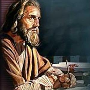 Imagen de Peter escribiendo