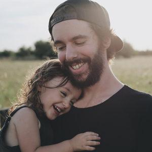 foto de padre e hija