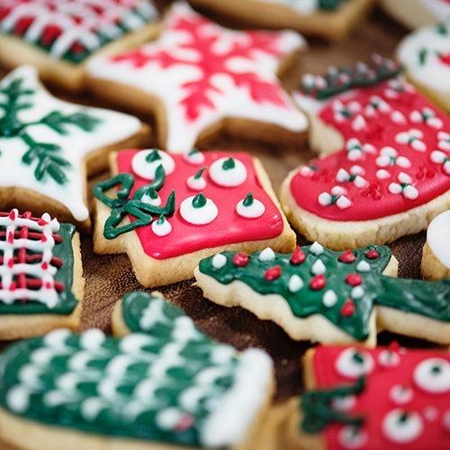 foto de galletas de navidad