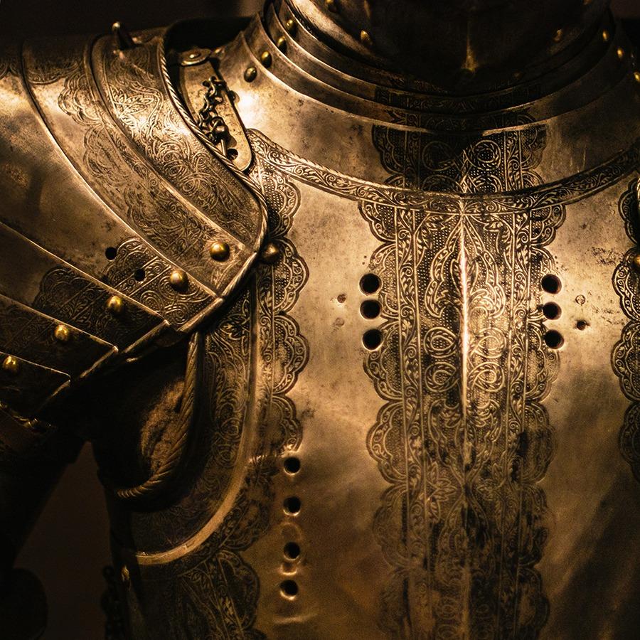 la armadura.