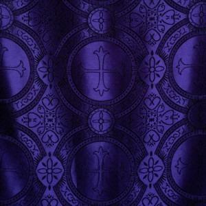 Foto de textil con estampado cruzado púrpura y blanco de Josh Applegate en Unsplash
