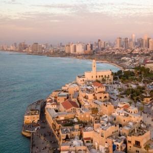 Foto de la costa israelí por Shai Pal en Unsplash