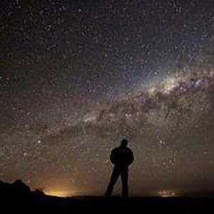 foto de noche estrellada