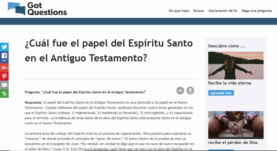 El ES en el Antiguo Testamento