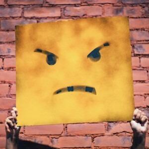 Foto de una cara enojada por Andre Hunter en Unsplash