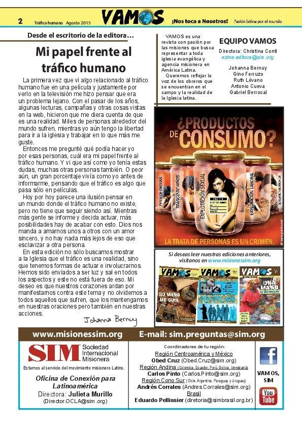 Tráfico humano imagen 1
