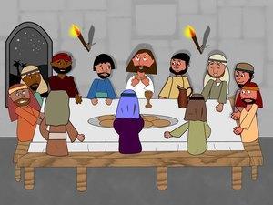 Jesus en la ultima cena | ObreroFiel