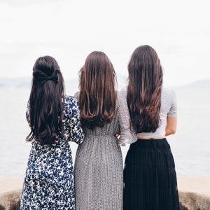 foto de tres mujeres
