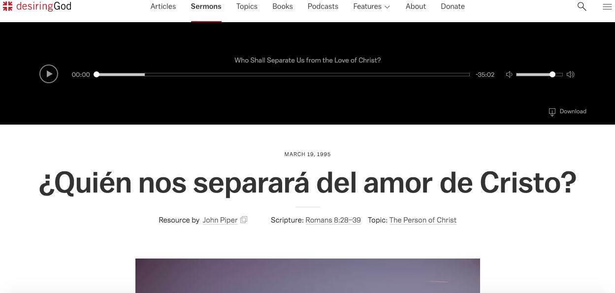 vista previa de la página de imágenes de la Biblia gratis