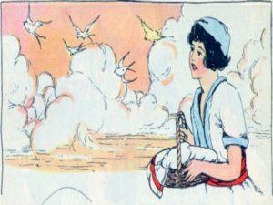 Un nino escucha a Jesus ensenando
