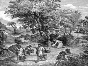 Josue Doce espias en Canaan