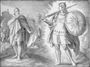 Josue y comandante del Senor