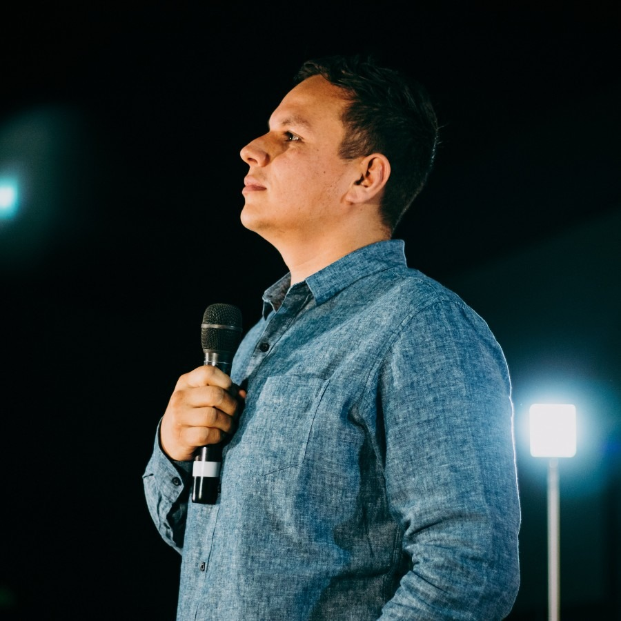 pastor speaking