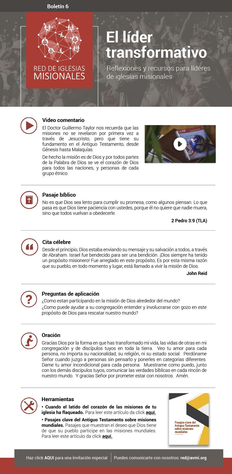 Boletín 6 Red de Iglesias