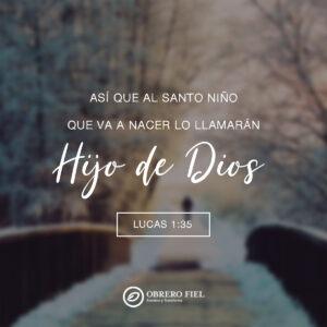 Lucas 1:35 cuadrada