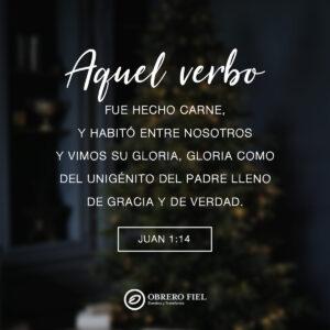 Juan 1:14 cuadrada