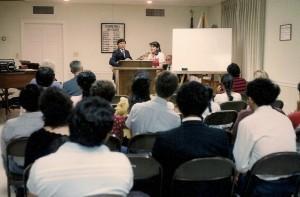 La estrategia de la plantacion de iglesias