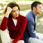 infeliz pareja