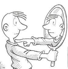 mirando-en-el-espejo