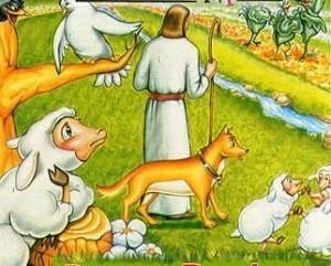 Hojas de actividades-Parábola 17-El buen pastor
