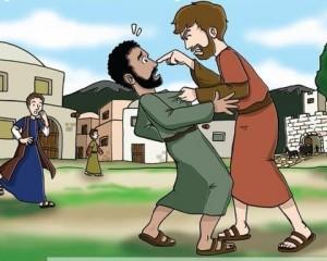 Hojas de actividades-Parábola 19-El siervo despiadado