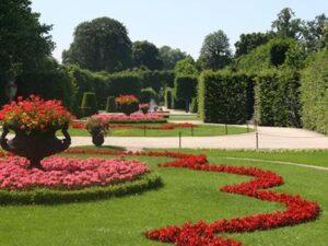 un jardin hermoso