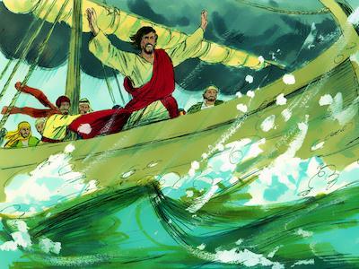 Jesús calma una tormenta | ObreroFiel