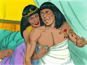 José y la esposa de Potifar